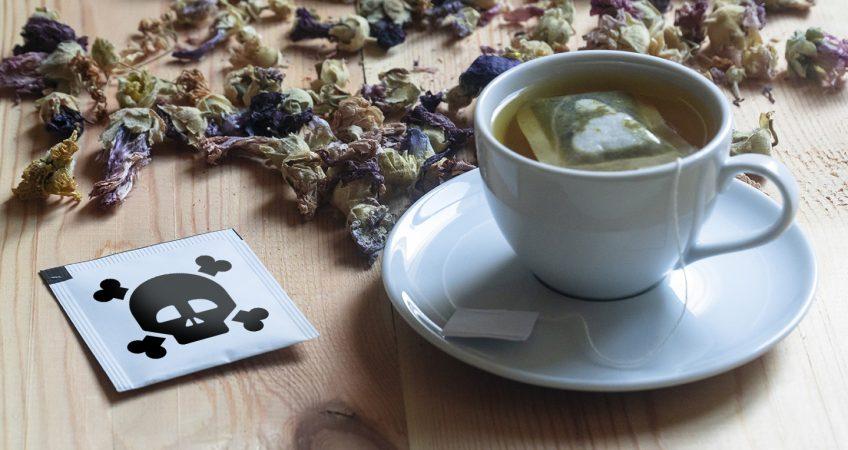 Gift im Tee