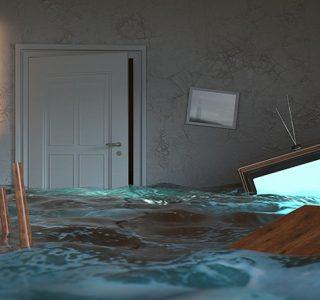 Wasser in der Wohnung
